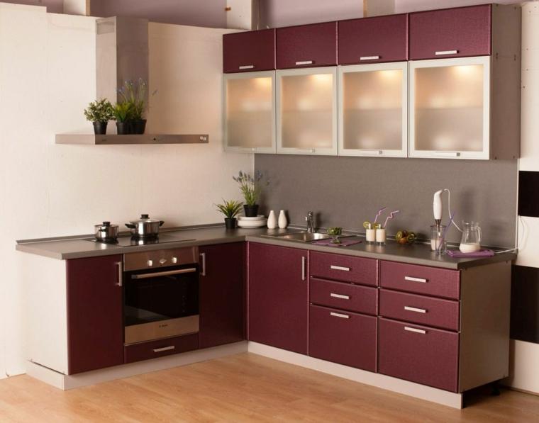 dessins de petites cuisines-couleurs intégrales