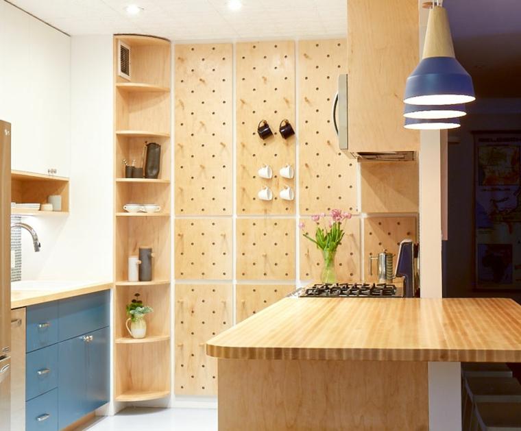 petites cuisines entièrement décorées