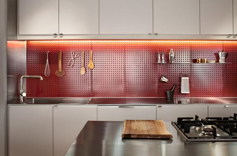 petites cuisines intégrales modernes