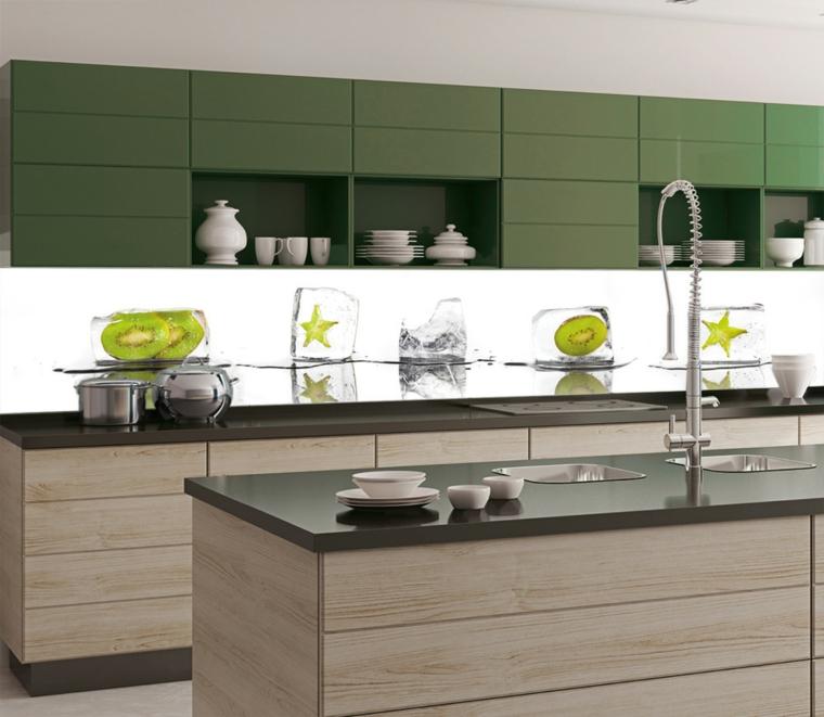 couleurs pour les petites cuisines modernes