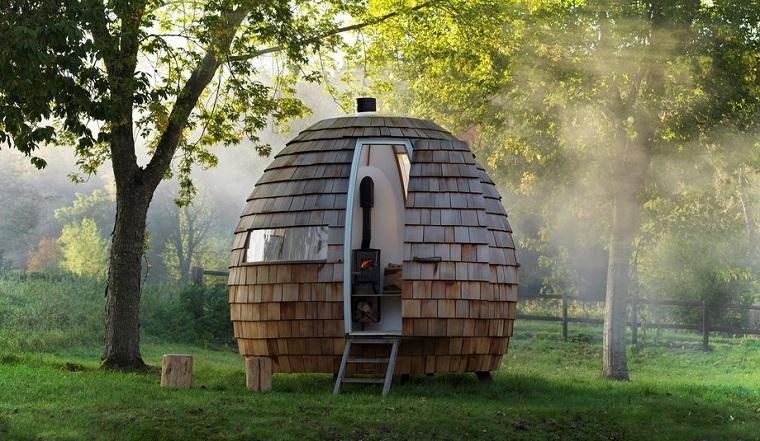 casas-pequenas-y-bonita-idées-casa-redonda-podmakers-design-original