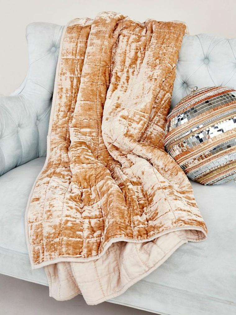Velours textile doux