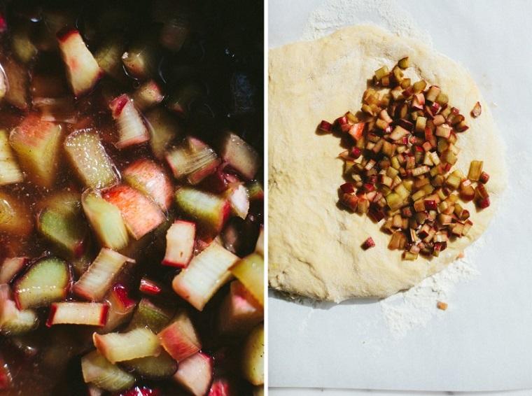 petits déjeuners-riches-noel-bonbons-rhubarbe-cuisine