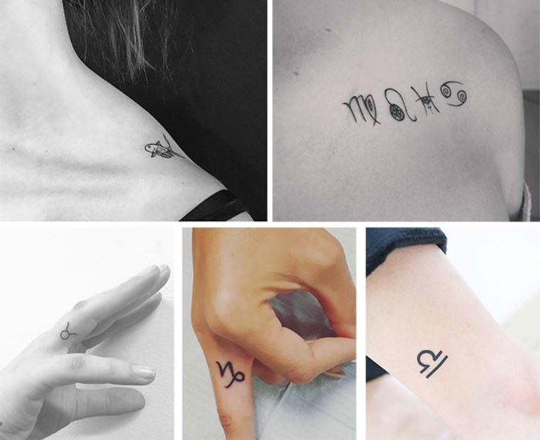 Dessins originaux de petits tatouages