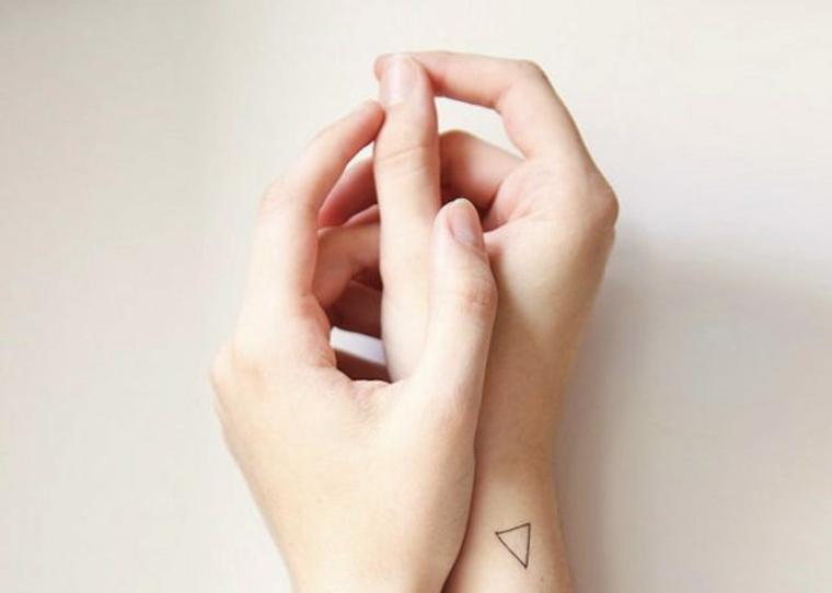 Triangle propre