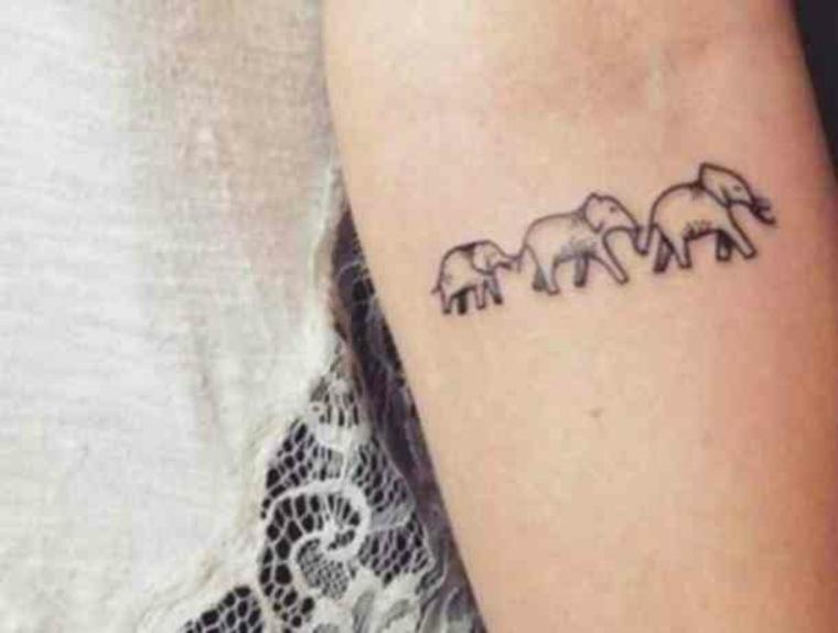 trois éléphants