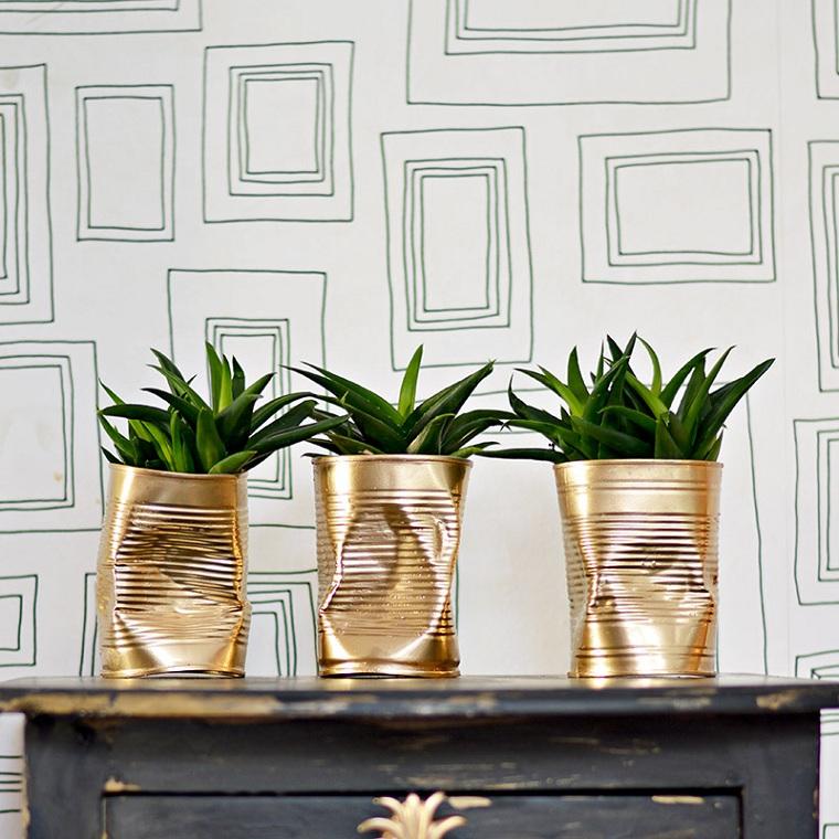 pots de fleurs-décorer-maison-canettes-réceptions