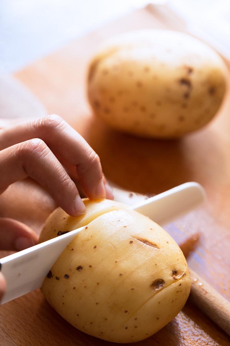 pommes de terre-al-horno-idées-recettes-faciles à couper