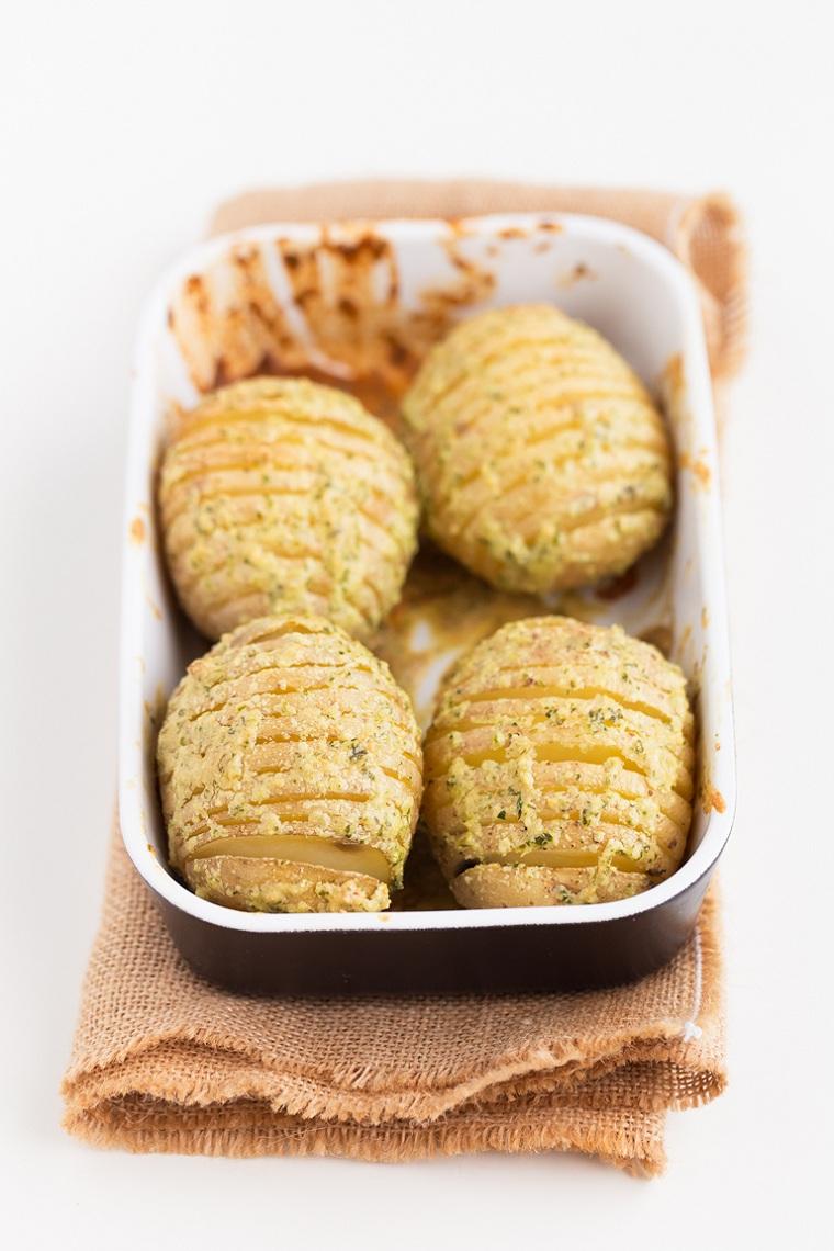 pommes de terre au four idées-recettes-faciles à couper-cuire-riche