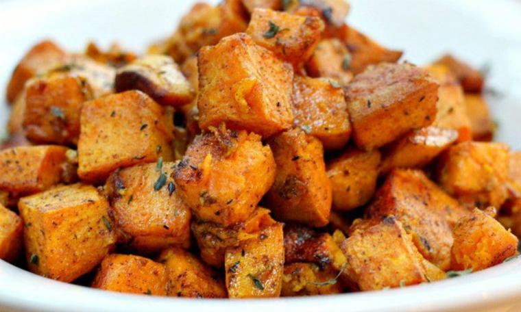 pommes de terre en dés