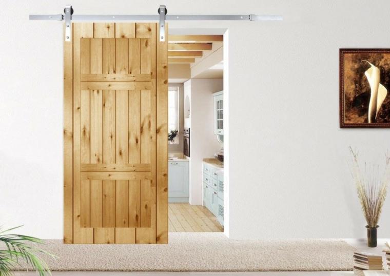 portes coulissantes en bois modernes