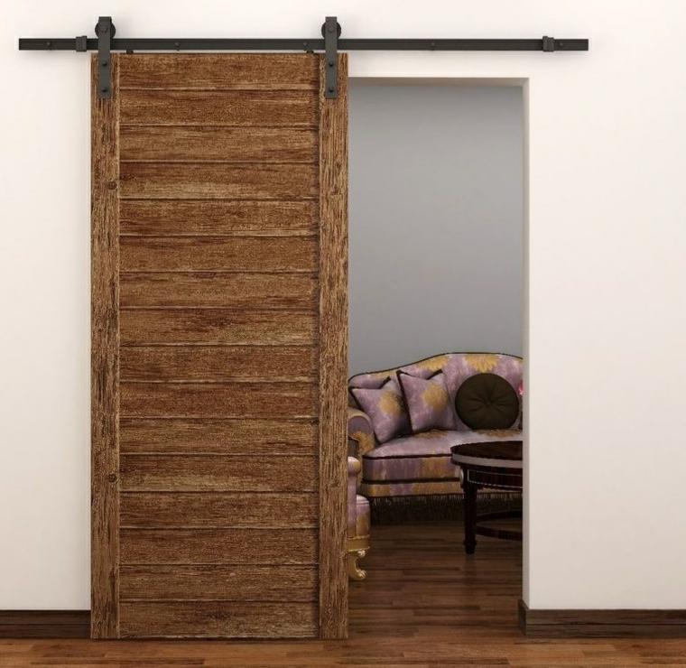portes coulissantes en bois stratifié
