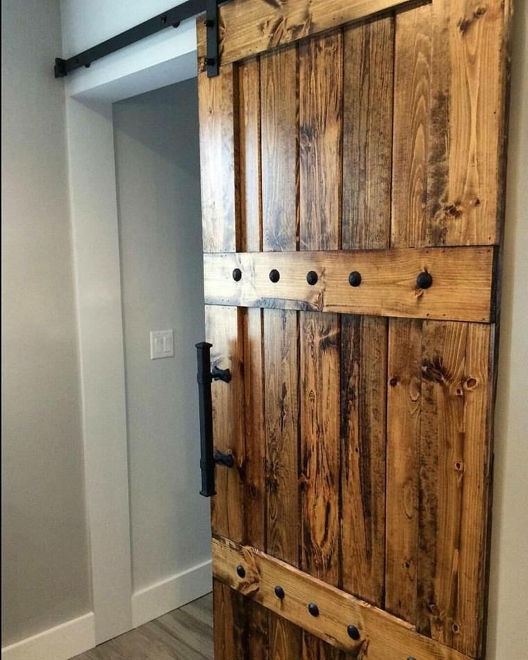 portes coulissantes en bois design