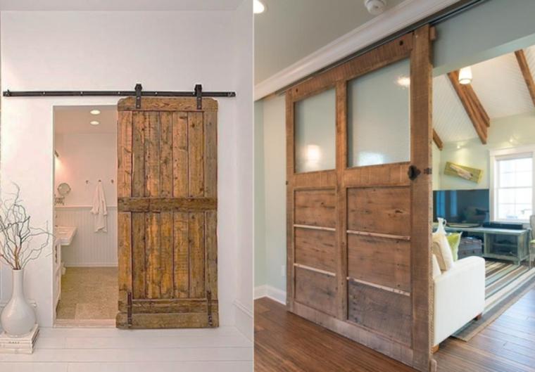 Types de portes coulissantes