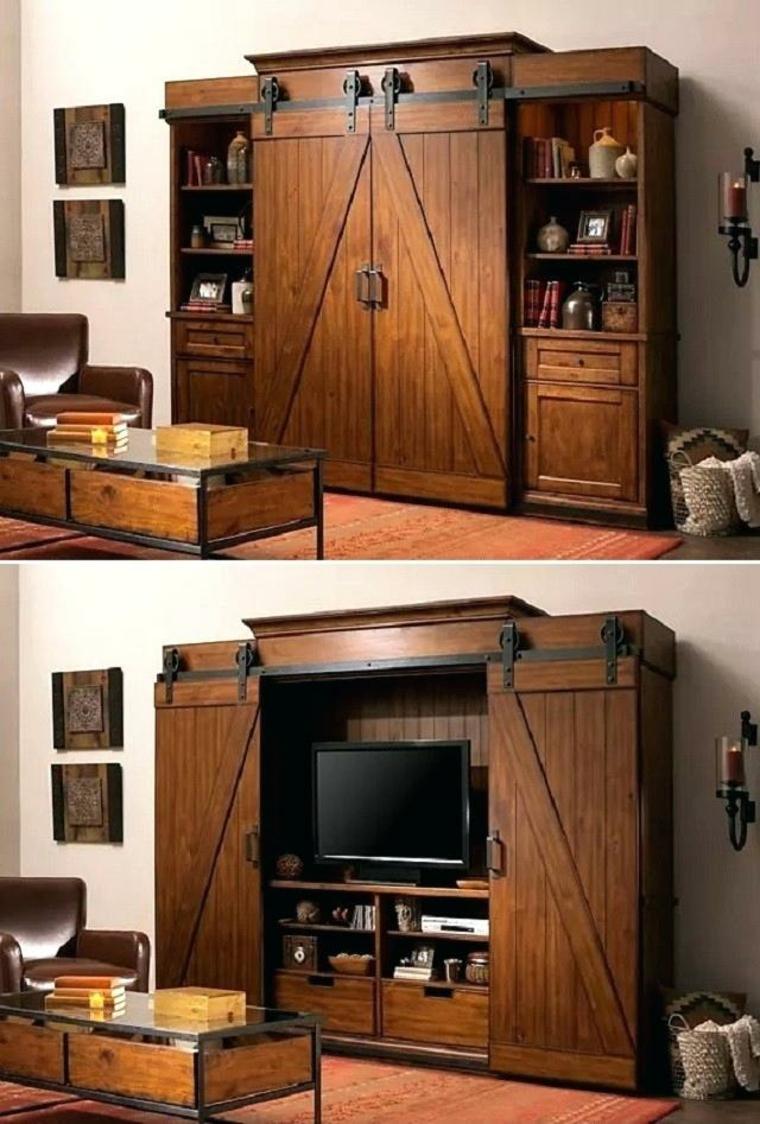 meuble tv meuble bois
