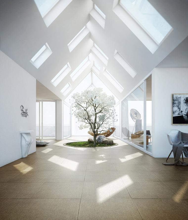 puits de lumière-design moderne