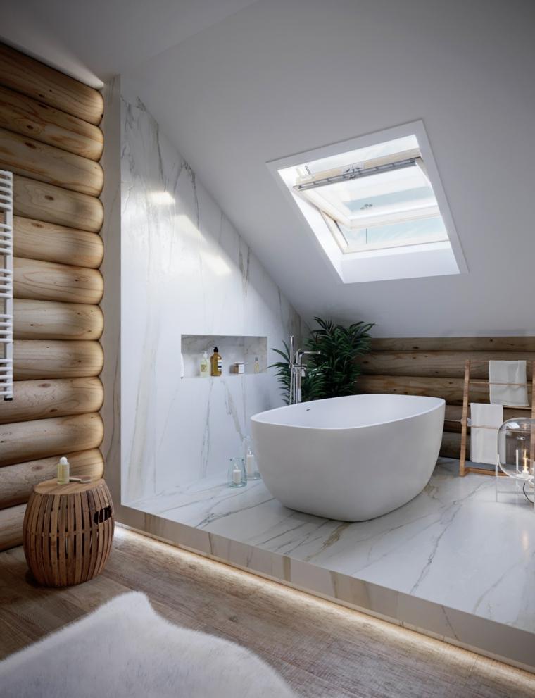 puits de lumière dans la salle de bain