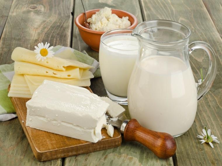 aliments nutritifs-produits laitiers