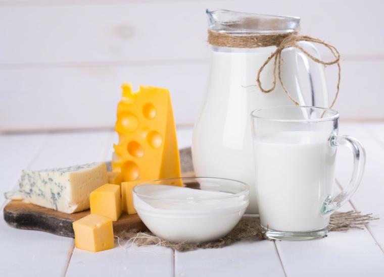 produits laitiers nutritifs