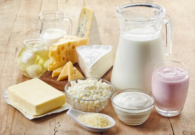 pyramide de produits laitiers