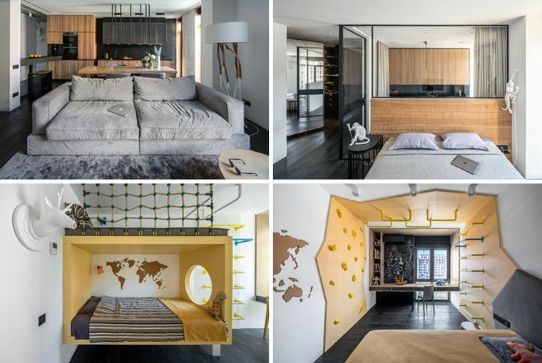 maisons modernes de remodelage intérieur