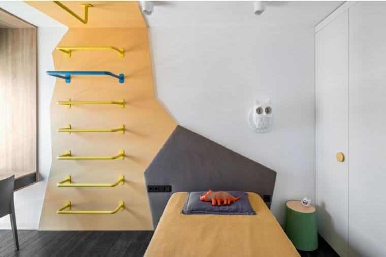 environnement minimaliste-chambres-enfants