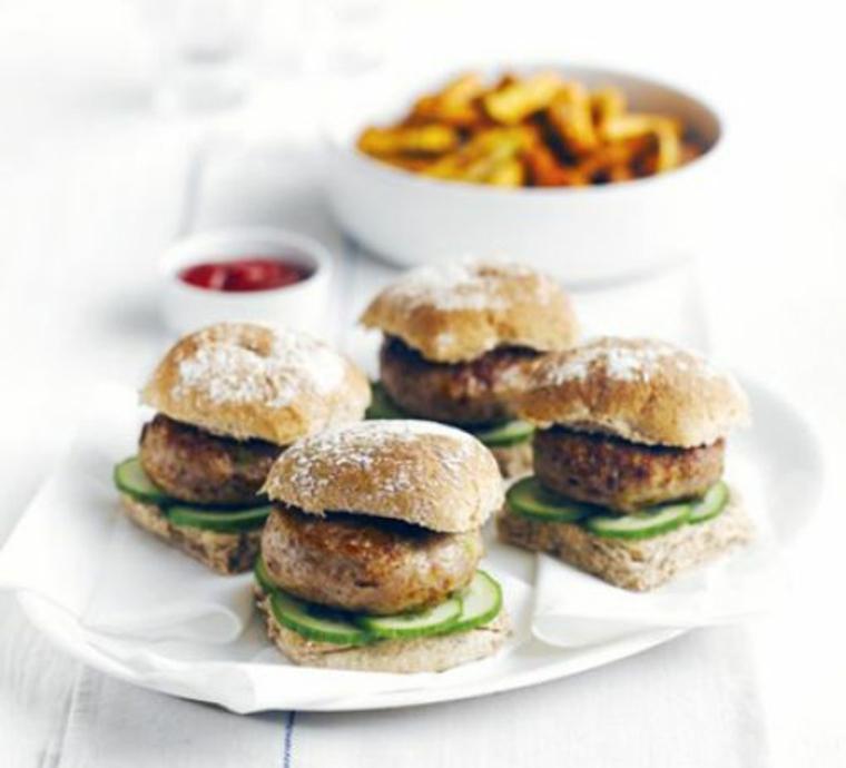hamburgers de légumes