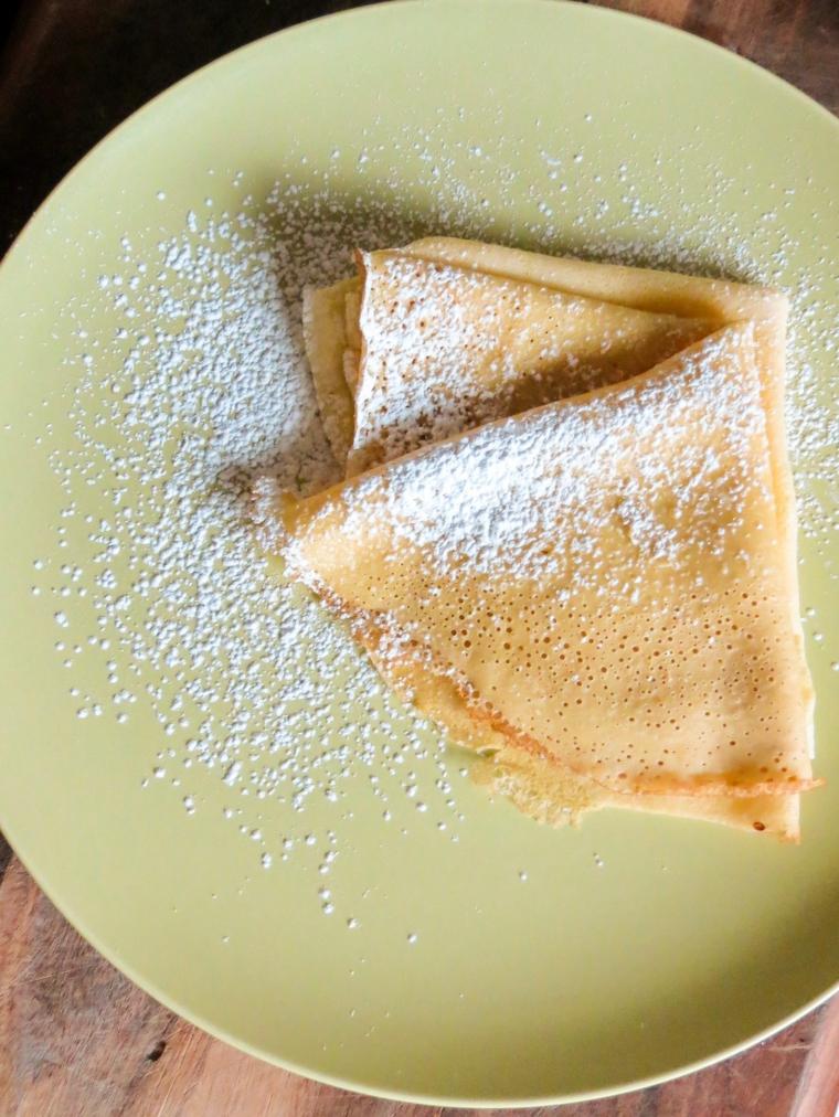 pancakes au sucre