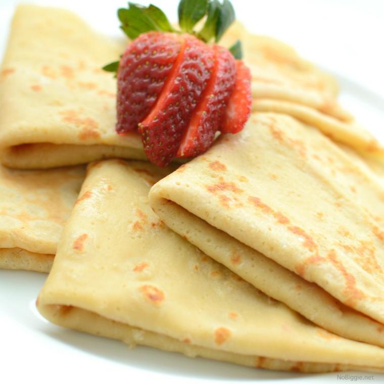 pancakes fraîchement préparés