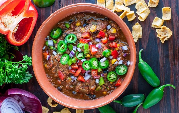 recette lentille-piment-végétarien
