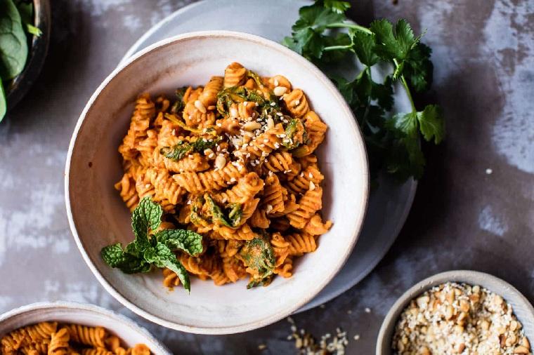 recette-lentilles-pasta-tomates-séchées
