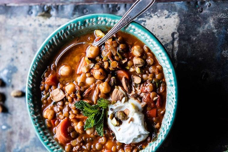 recette-lentilles-haricots-idées-style-maroqui-délicieux