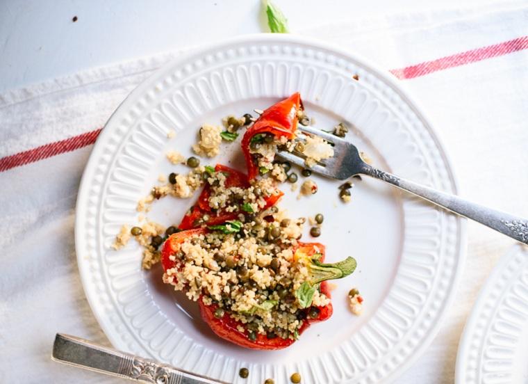 recette-lentilles-cuscus-poivrons