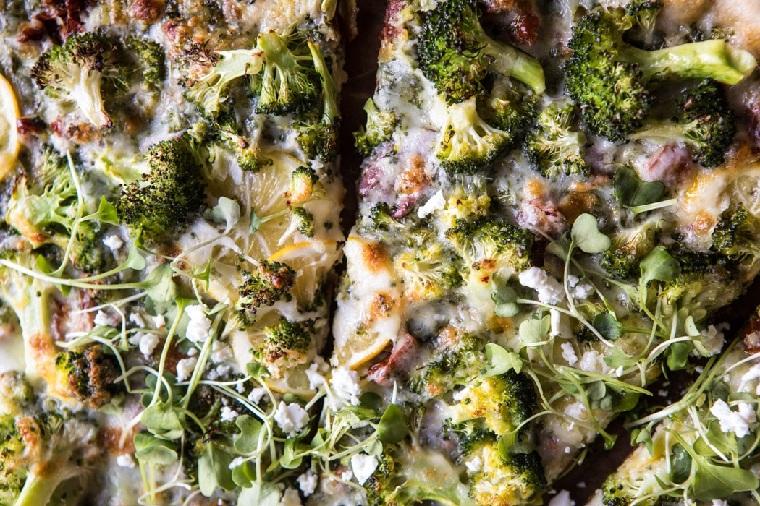 recettes-avec-brocoli-citron-idées-pizza