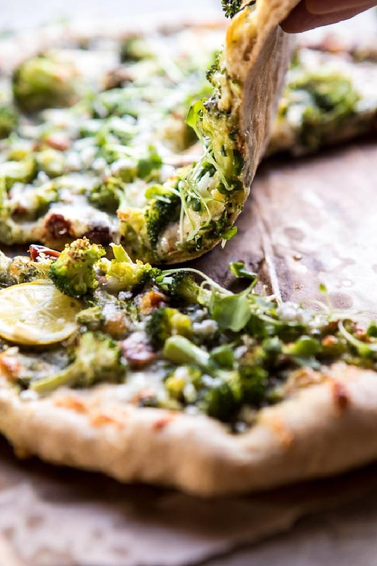 recettes-à-brocoli-citron-pizza-options