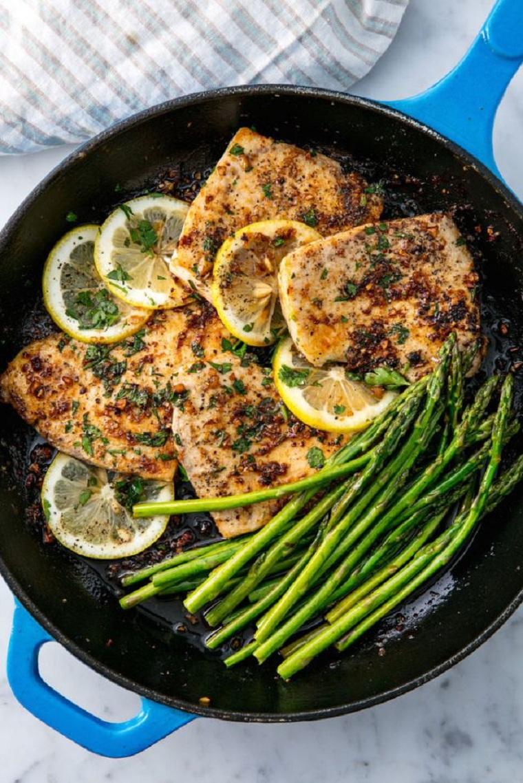 recettes avec des idées riches en poisson