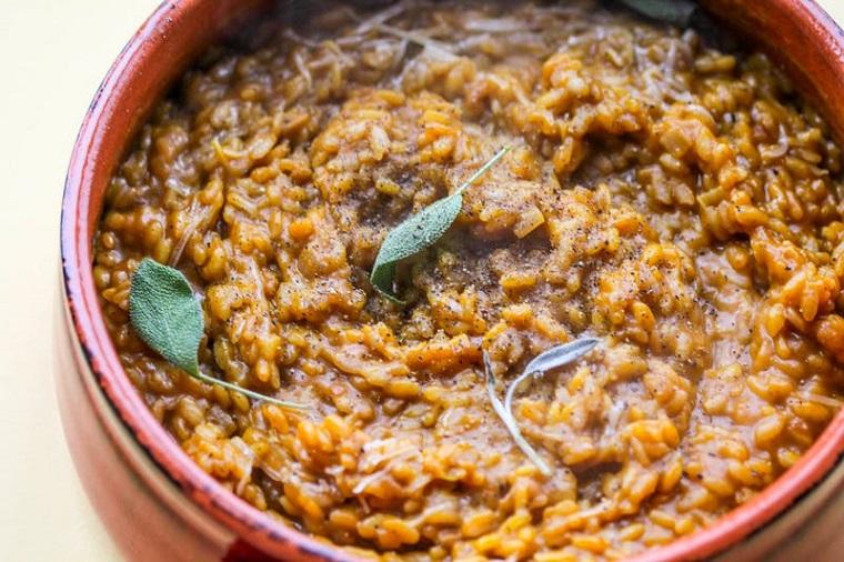 recettes-cuisson-potiron-risotto-idées-riches