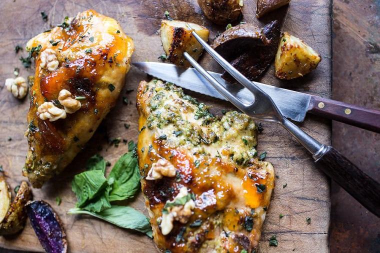 recettes-avec-poitrine-de-poulet-farci-fromage-idées