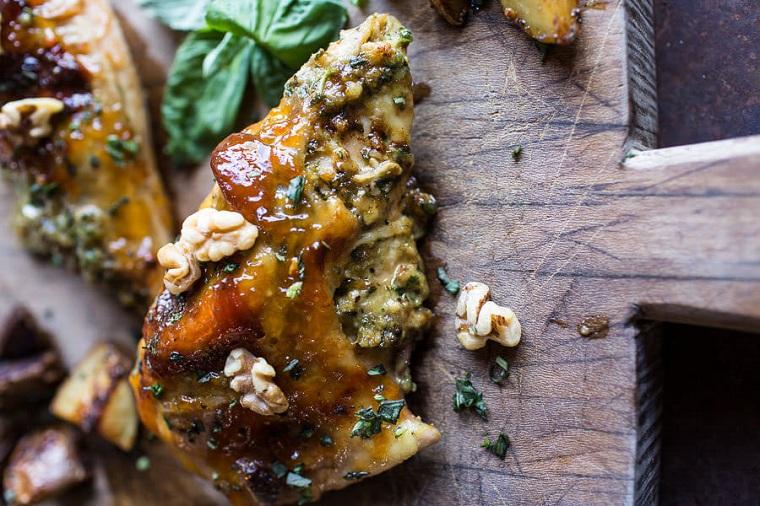 recettes-avec-poitrine-de-poulet-fromage-pommes de terre farcies