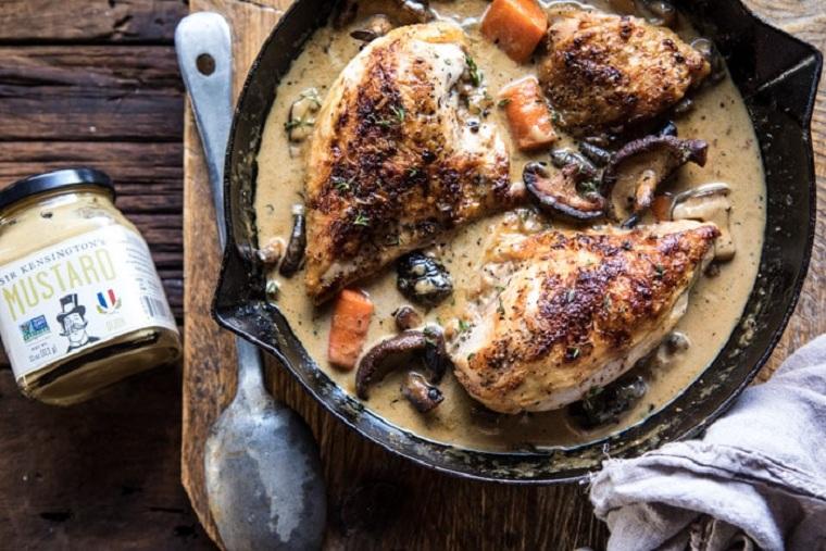 recettes-avec-poitrine-de-poulet-sauce-délicieux