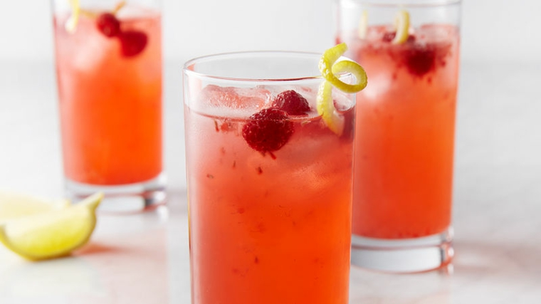 boissons non alcoolisées-mûres-citrons