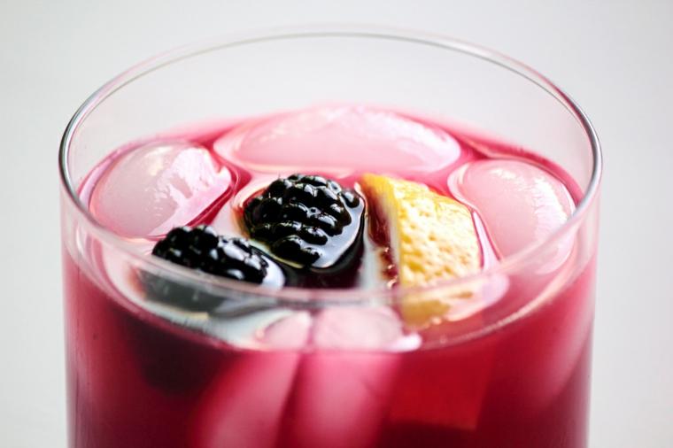 boissons exotiques-maison-mûres-citrons
