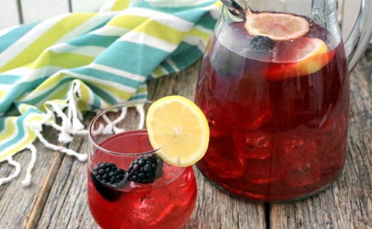 recettes de boissons-limonade-mûres