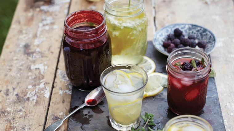 vitamines antioxydantes-mûres-citrons