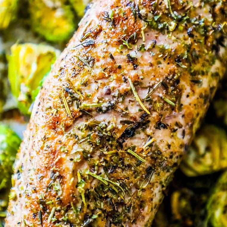 recettes-de-surlonge-de-porc-rôti-legumes