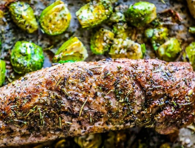 recettes de filet de porc-légumes-rôtis-idées-originales