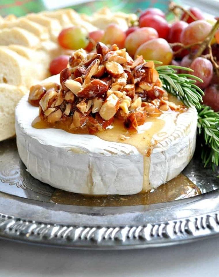recettes de noel-fromage-brie-amandes