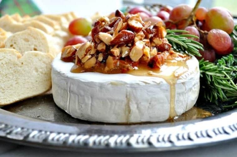 recettes de noel-fromage-brie-miel