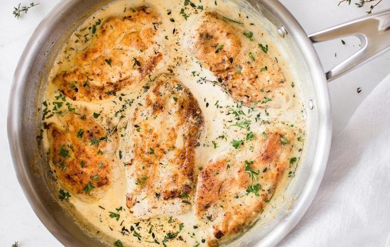 recettes de noël dîner de poulet
