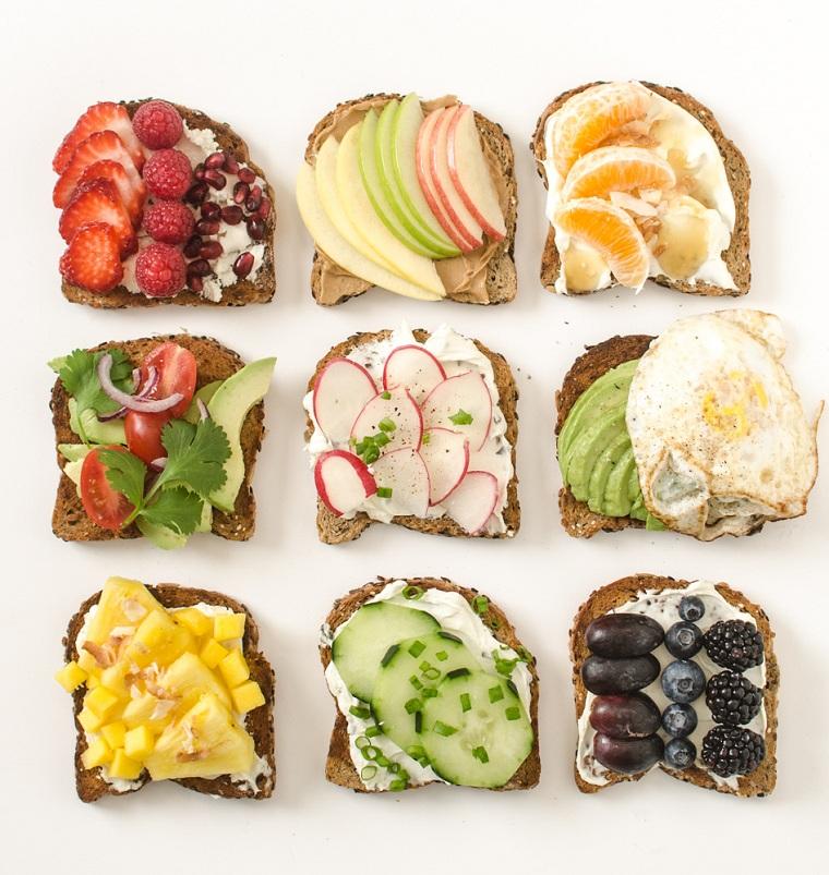 recettes-pour-déjeuner-toast-options